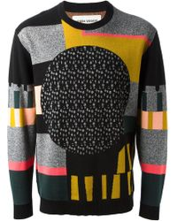 Henrik Vibskov Patterned Jumper - Lyst