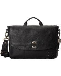Will Leather Goods Black Kent Messenger - Lyst