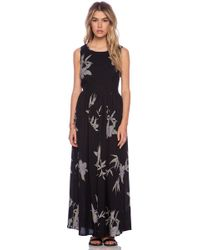 Neuw Blue Orchid Maxi Dress - Lyst