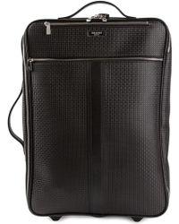 Serapian - Textured Wheel Suitcase - Lyst