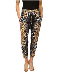 Versace Printed Trouser - Lyst