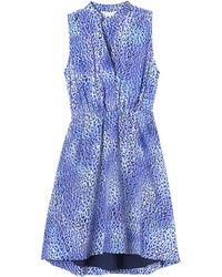 Rebecca Taylor Leopard Fever Dress - Lyst