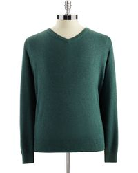 Calvin Klein V-Neck Cardigan Sweater - Lyst