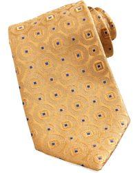 Charvet Medallion Silk Tie - Lyst