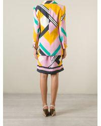 Christian Lacroix - Geometric Print Skirt Suit - Lyst