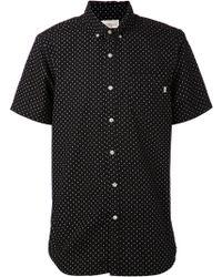 Obey Diamond Shirt - Lyst