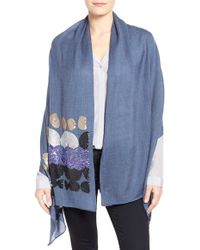 Echo - 'abstract Sequin' Wrap - Lyst