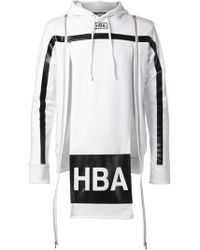 Hood By Air Zip Detail Hoodie - Lyst
