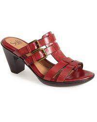 Söfft 'Sascha' Leather Sandal - Lyst
