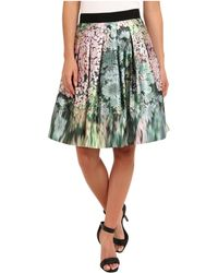 Ted Baker Ovald Glitch Floral Full Skirt - Lyst