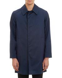 Aquascutum Roadgate Raincoat blue - Lyst