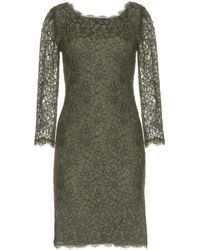 Diane von Furstenberg Zarita Long Lace Dress - Lyst