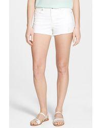 Jessica Simpson Uptown Denim Shorts - Lyst