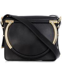 Ferragamo Micole Leather Cross-body Bag - Lyst