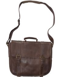 Alternative Apparel - Crosstown Leather Briefcase - Lyst