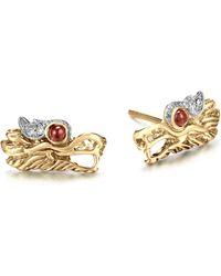 John Hardy Small Dragon Head Studs Earrings. - Lyst