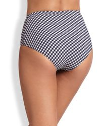 Lahco - Rimini High-waist Bikini Bottom - Lyst