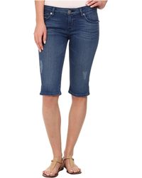 Hudson Viceroy Knee Shorts In Angeltown - Lyst