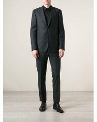 Ermenegildo Zegna Gray Pinstripe Suit - Lyst
