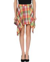 1d7a2aef5e Women's Vivienne Westwood Red Label Skirts Online Sale - Lyst