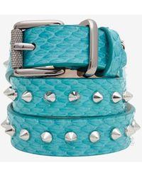 Barbara Bui - Spiked Wrap Belt Bracelet - Lyst