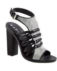 L.A.M.B. Women'S 'Bedford' Leather Sandal - Lyst