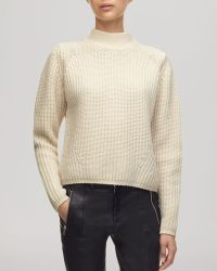 Whistles Sweater - Fashion Rib Knit Wool - Lyst
