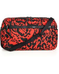 Alexander McQueen Printed Tech Crossbody Bag - Lyst
