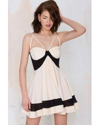 Nasty Gal Party On Fit & Flare Dress - Lyst