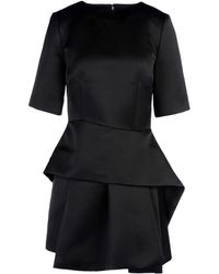 McQ by Alexander McQueen Black Short Dress - Lyst