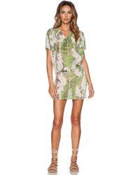 Agua de Coco - Orchid Mini Dress - Lyst