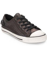 Ash Virgo Embossed Low-Top Sneakers - Lyst