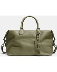 COACH   Explorer Bag In Pebble Leather   Lyst