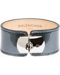 Balenciaga Holiday Collection Padlock Bracelet M - Lyst
