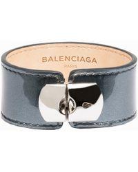 Balenciaga Holiday Collection Padlock Bracelet M - Lyst