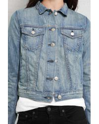 Rag & Bone The Jean Jacket blue - Lyst