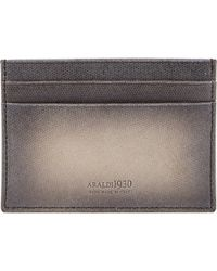 Araldi - Textured Flat Card Case - Lyst