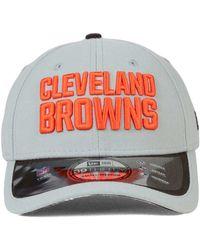 Men's Cleveland Browns '47 Brand Brown Reversal Team Closer Flex Hat