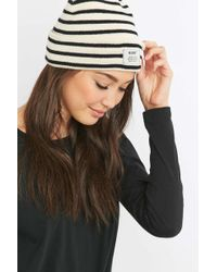 Reason - Striped Ribbed Beanie - Lyst