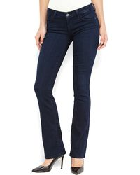 Guess Dark Wash Kate Bootcut Jeans - Lyst