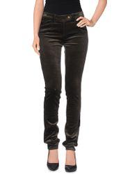 Isabel Marant Casual Pants gray - Lyst