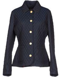 Daks London Blue Jacket - Lyst