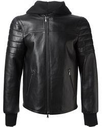 Neil Barrett Hooded Jacket - Lyst