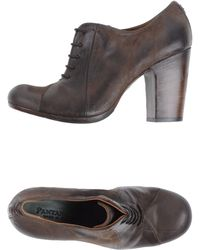 Pantanetti Brown Laceup Shoes - Lyst