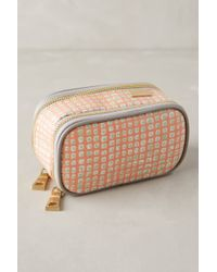Kestrel - Dotted Canvas Jewelry Case - Lyst