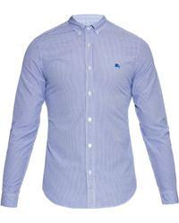 Burberry Brit - Elland Striped Cotton Shirt - Lyst