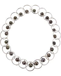 Assael Roundlink Tahitian Pearl Choker Necklace - Lyst