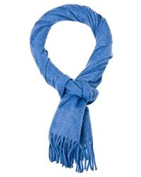 Ralph Lauren Blue Label Cashmere Scarf blue - Lyst