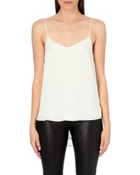 Theory Vaneese Silk Camisole - For Women - Lyst