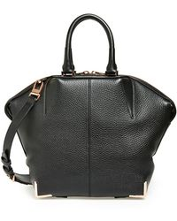 Alexander Wang 'Small Emile' Leather Satchel - Lyst